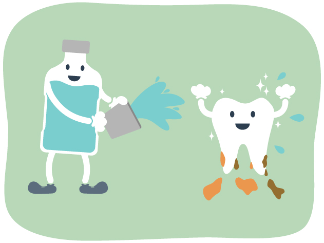 口を清潔にして感染症対策