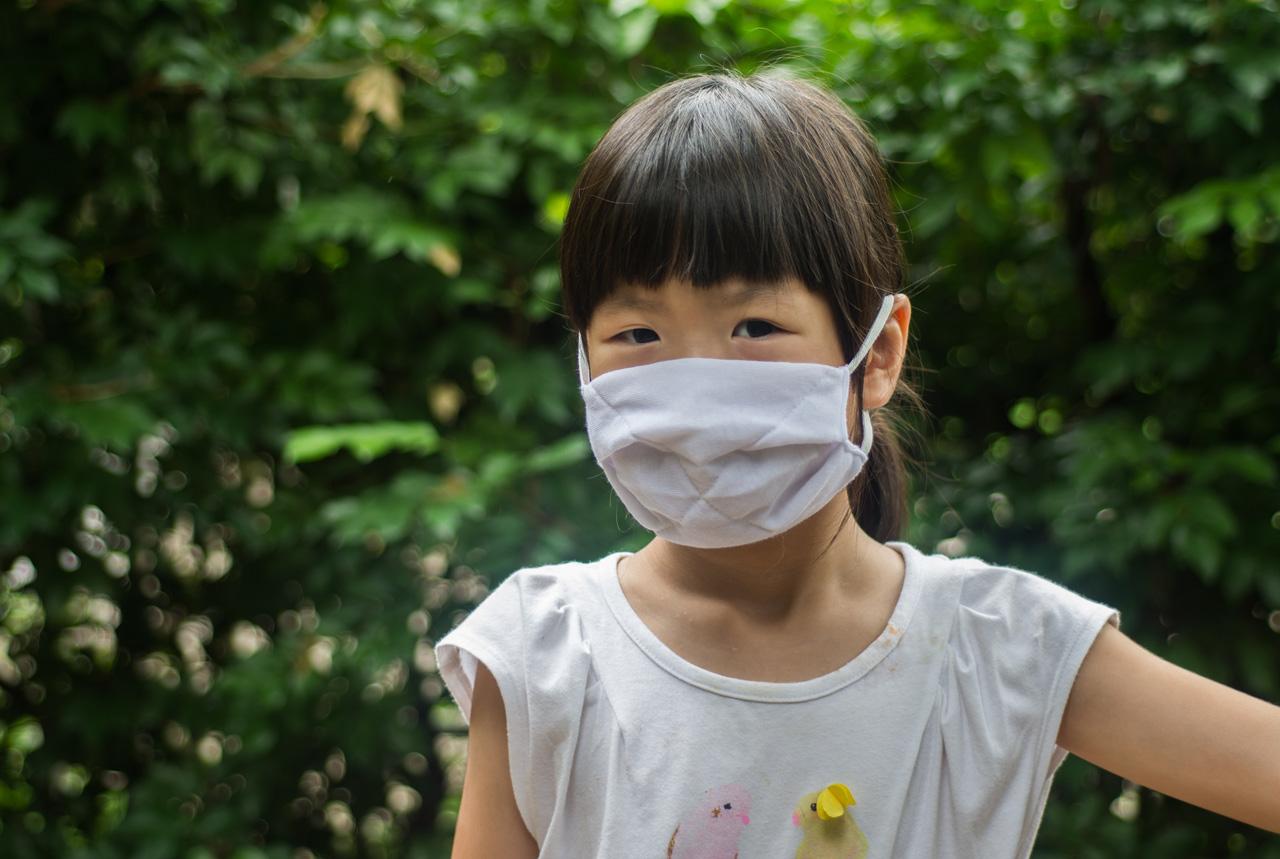 マスクで感染症予防