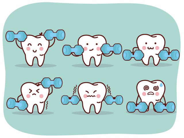 歯を鍛える