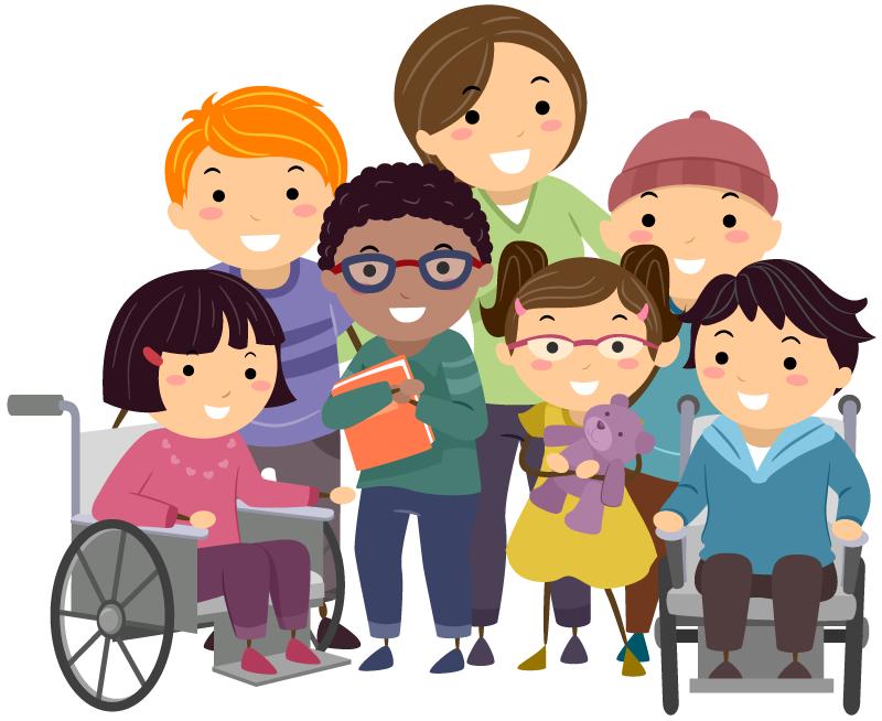 障害のある児童