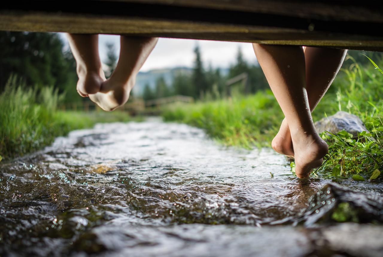 川遊びに注意