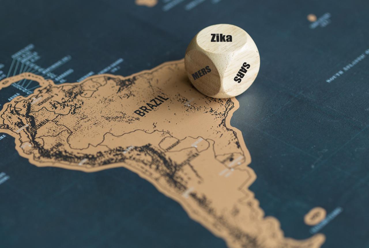 ジカ熱の流行地域