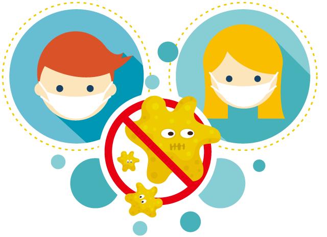 飛沫感染を防ぐ