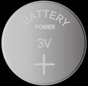 ボタン型磁石のイラスト