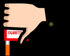 嫌煙のイラスト