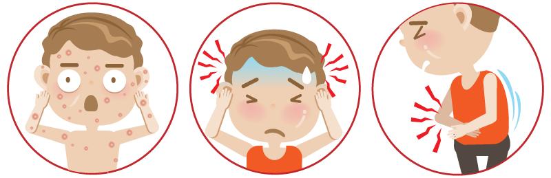 腸チフスの症状