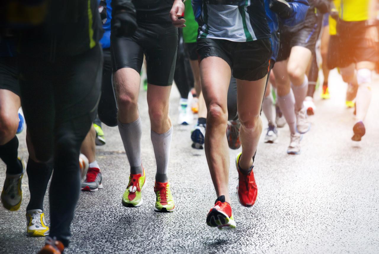 <徳島県>視覚障害者と走る喜び共有 県内に伴走団体誕生