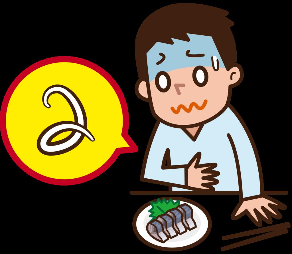 アニサキス症の感染源