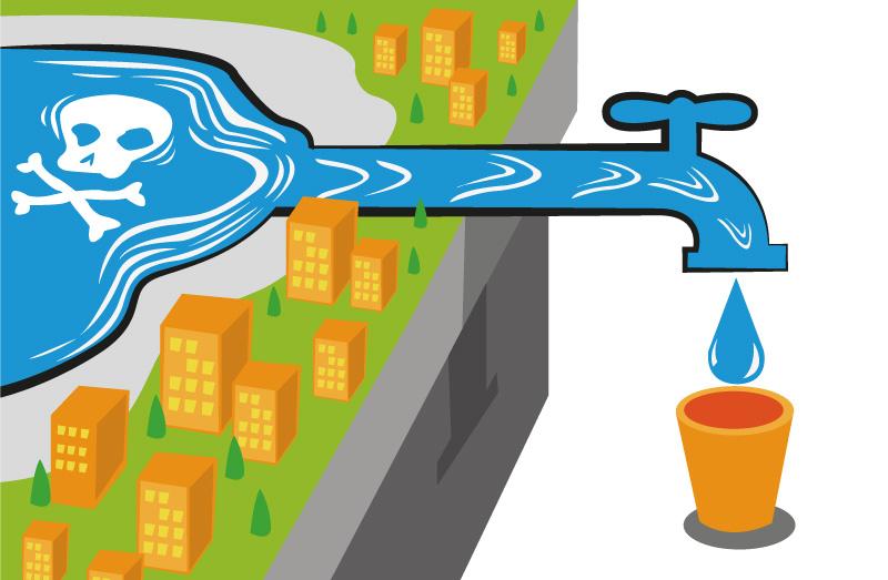 水道の汚染