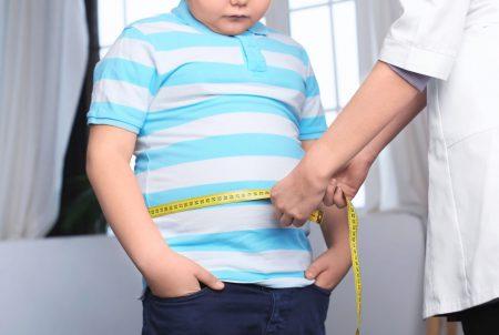 子どもの肥満の画像