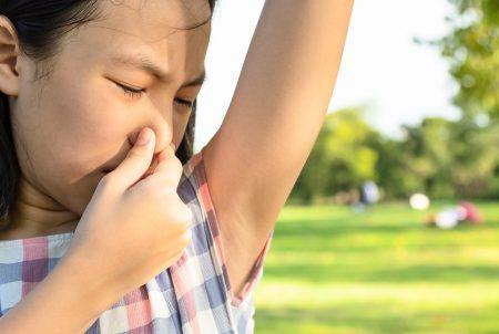 思春期以降に発症―わきが  生活習慣の改善を