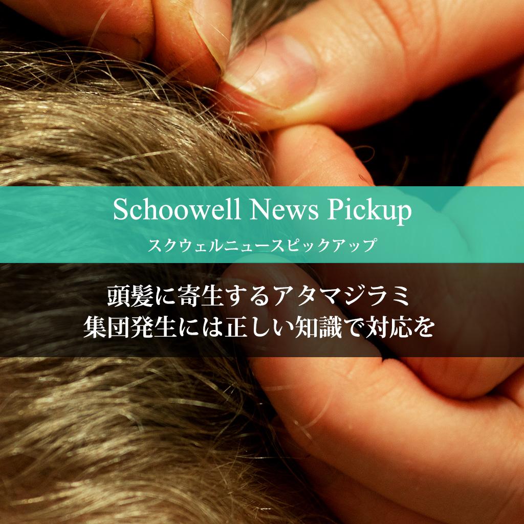 頭髪に寄生するアタマジラミ 集団発生には正しい知識で対応を